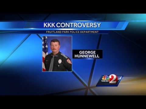 FBI report: Former Fla. fire chief was KKK member