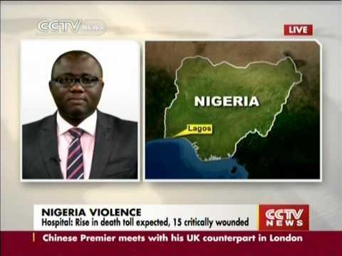 Explosion rocks World Cup viewing venue in Nigeria