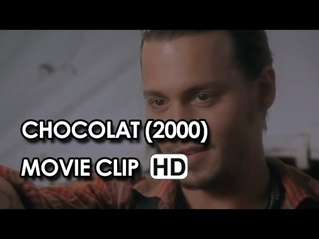 "Johnny Depp in ""Belonging"" Clip from Chocolat (2000) HD"