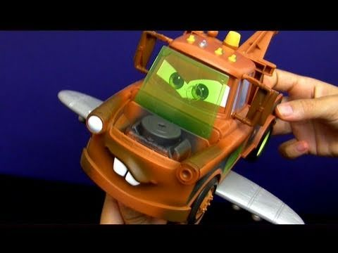 Cars 2 Spy Wings Mater Toy review from Maters Secret Mission Disney Pixar