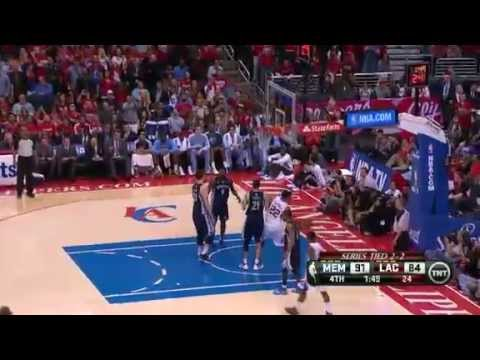 NBA CIRCLE - Memphis Grizzlies Vs LA Clippers Game 5 Highlights 30 April 2013 NBA Playoffs