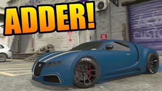 "GTA 5: Adder ""Bugatti Veyron"" Full Tuning Customization"