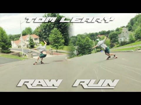 Tom Leary Raw Run on the Nelson BatRay 4.8