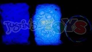 Rainbow Loom NEW Electric Glow Bands Review