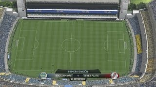 (PS4) FIFA 14 Boca Juniors Vs River Plate FULL