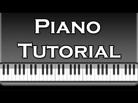 Yann Tiersen - Comptine d'un autre ete l'apres midi Piano Tutorial [50% speed] (Synthesia)