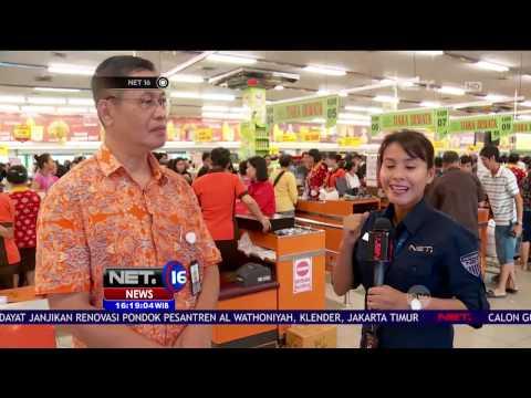 Live Report - Kondisi Masyarakat Berburu Kebutuhan Pokok Jelang Hari Raya Nyepi - NET16