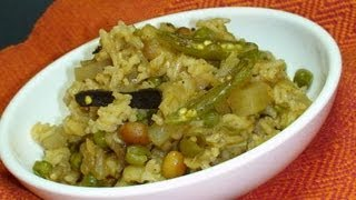 How To Make Masala Khichadi Indian Spiced Rice Recipe