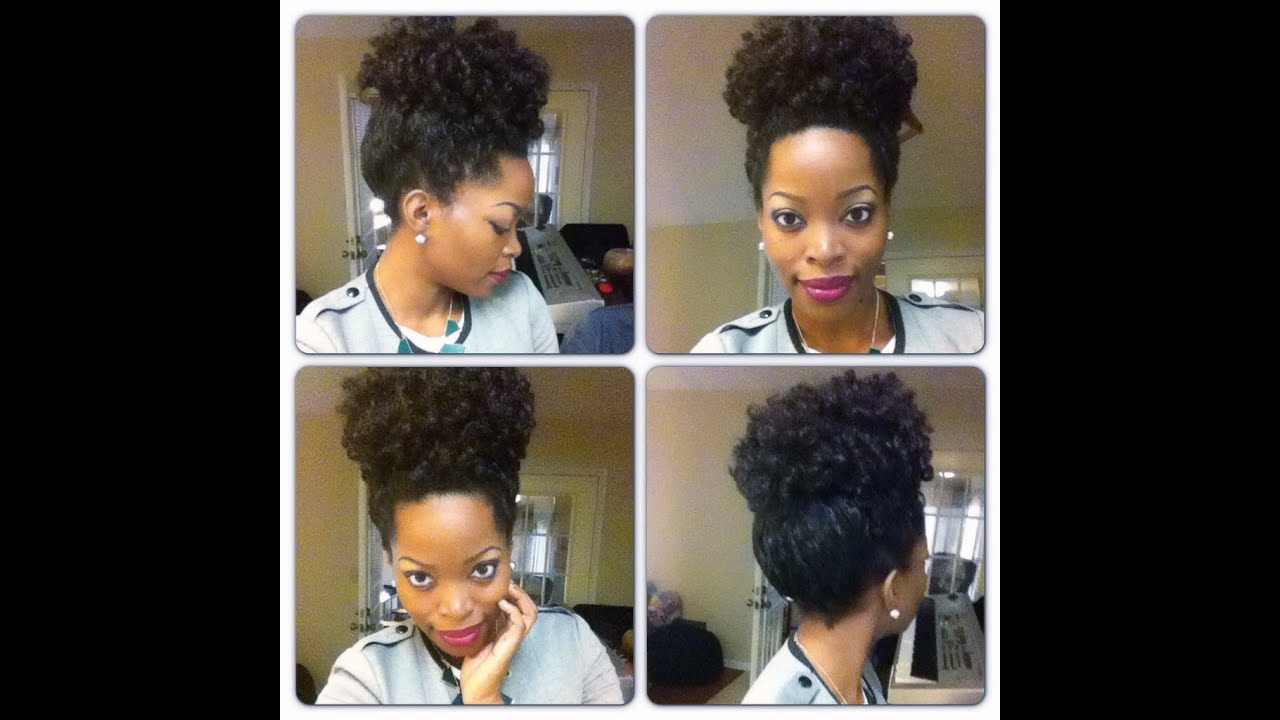 Crochet Braids Rod Set : How to do a high puff: Crochet Braids Curly ~ CURLED DOING A ROD SET ...