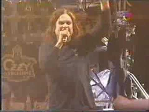 Ozzy Osbourne - Paranoid Quilmes Rock 2008 Live Argentina