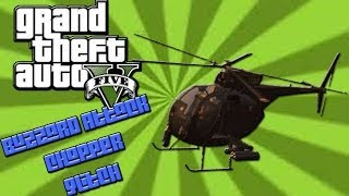GTA 5 How To Get The Buzzard Attack Chopper Without