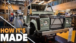 Land Rover Defender HOW IT'S MADE - Car Factory Assembly Line Production Manufacturing