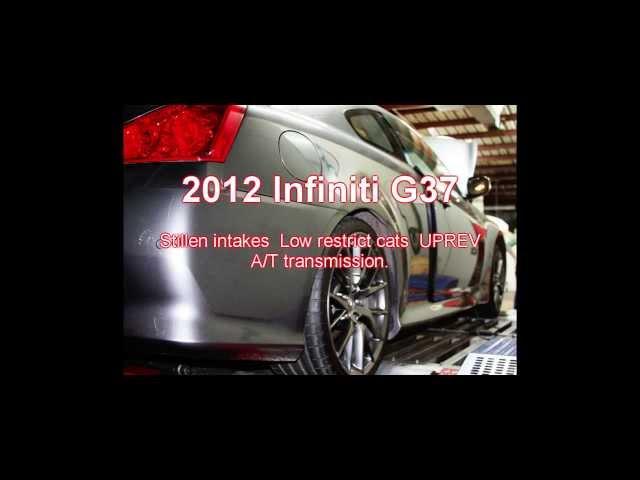 '12 Infiniti G37 IPL tuning