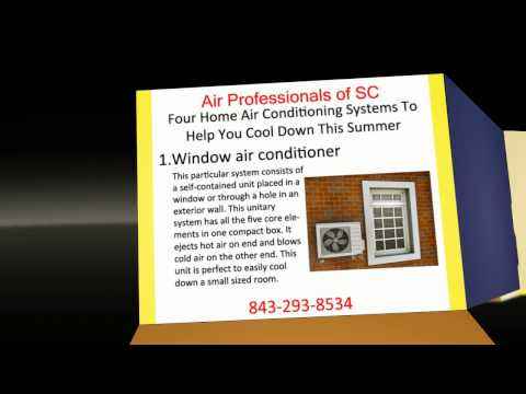 Four Home Air Conditioning Systems To Help You Cool Down This Summer | 843-293-8534
