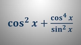 Poenostavljanje izrazov kotnih funkcij 2