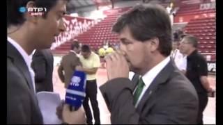 Futsal | Sporting Campeão Nacional Festa no Final do jogo 4 Benfica 1-3 Sporting 2012/2013