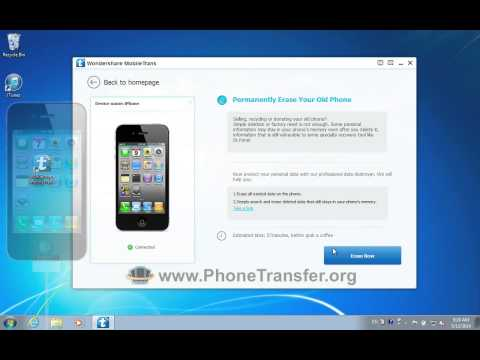 How to Permanently Erase Your Old iPhone, Clear up iPhone Data, Set iPhone as New?