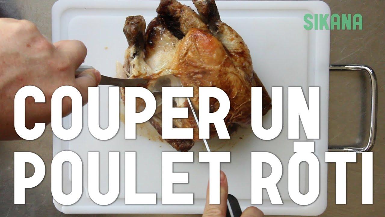 Comment couper un poulet r ti rapidement hd youtube - Comment couper un jambon iberique ...