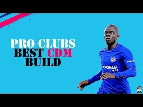 FIFA 19 PRO CLUBS BEST CDM BUILD & TRAITS + TIPS