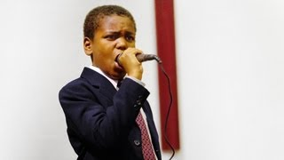 11-Year-Old Minister Delivers Riveting Sermon