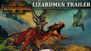 Total War: WARHAMMER II - Lizardmen In-Engine Trailer