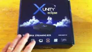 Unboxing Xunity Eclipse Android XBMC TV Media Streaming