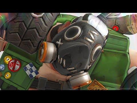 Overwatch - 'KIWI' Roadhog Gameplay (COMMON SKIN)