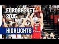 Russia v Poland Group A Game Highlights EuroBasket 2015