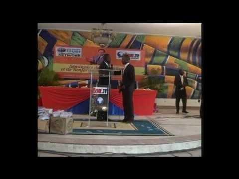 SEMINAIRE AVEC MARY OWASE DIRECTRICE MONDIAL GDN REPRESENTANTE DU PASTOR CHRIS OYAKHILOME