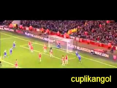 Arsenal 1 - 1 Everton highlights 2013 Mesut Özil  Gerard Deulofeu goals Cuplikan gol