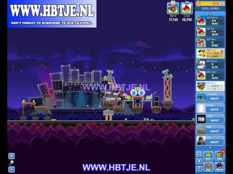 Angry Birds Friends Tournament Level 4 Week 70 (tournament 4) Rock in Rio no power-ups