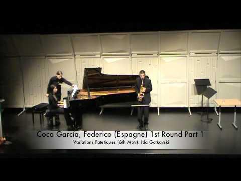 Coca García, Federico Espagne 1st Round Part 1