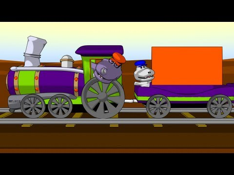 Little Train of Shapes - Learning Shapes for Kids