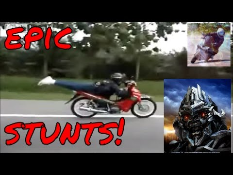 Stunts EPIC motorcycle and dirt bike compilation - part 3