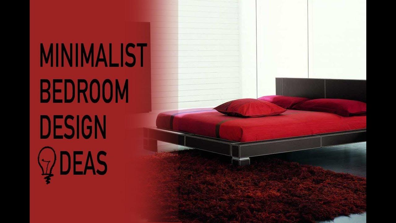 minimalist bedroom design ideas youtube