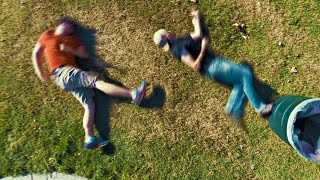 Stop-Motion Parkour Fight Is Less Dangerous, But Way Funnier Than A Real One