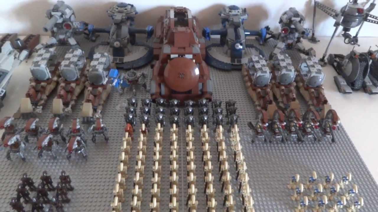 Lego star wars droid army 2013 youtube - Lego star wars base droide ...
