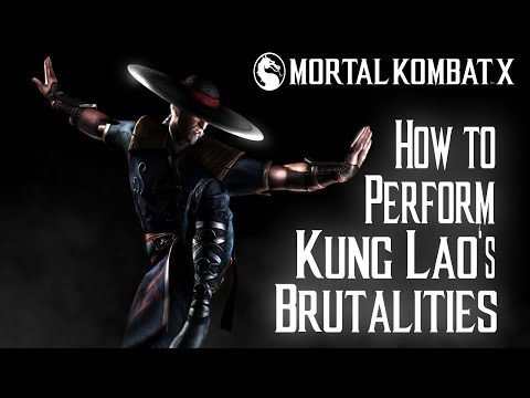Kombat Tips - How to perform all of Kung Laos Brutalities in MKX