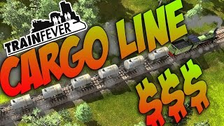 Train Fever Gameplay! CARGO LINE ONLINE!!!! Episode #3