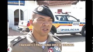 Traficante � preso vendendo crack em uma obra de Varginha