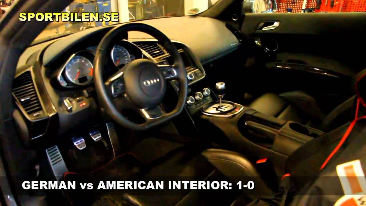 german vs american car interior 1 0 youtube. Black Bedroom Furniture Sets. Home Design Ideas