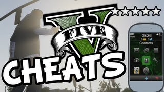 GTA 5 ALL CHEATS FOR PS3 + XBOX 360 (GTA V Cheat Codes