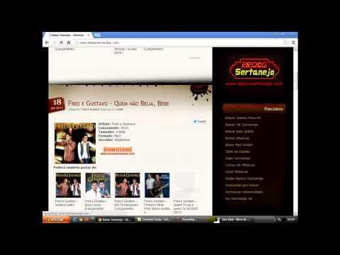 video aula como baixar musicas sertanejas