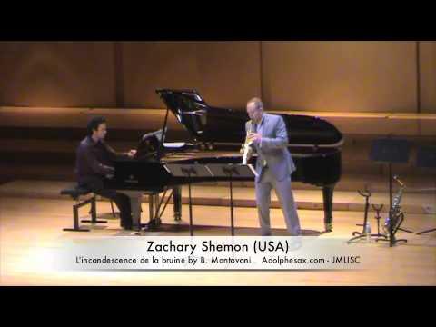 3rd JMLISC Zachary Shemon L'incandescence de la bruine by B. Mantovani