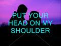 Put Your Head On My Shoulder Lettermen