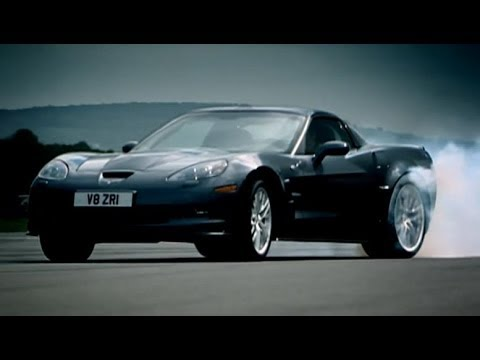 Corvette ZR1 vs Audi R8 - Top Gear - BBC