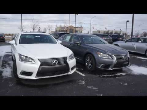 2014 Lexus LS 460 differences between models LS460L and F Sport see the differences