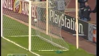 Spartak Moskow - 3 Sporting - 1 de 2000/2001 Uefa CL