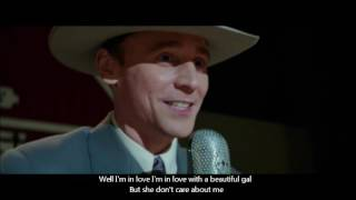 Tom Hiddleston singing Lovesick Blues - I Saw The Light (video+Lyrics)
