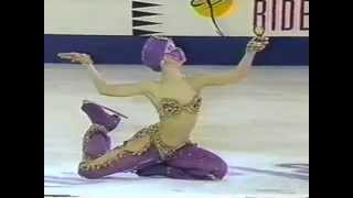 "Oksana Baiul Performs To ""The Feeling Begins"" By Peter"